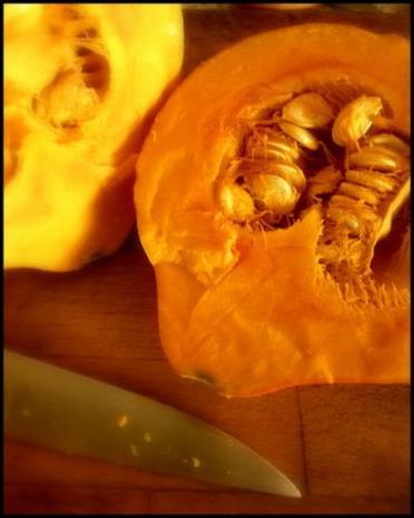 Hokkaido mit kernigem Kartoffelpüree - Rezept - Bild Nr. 3