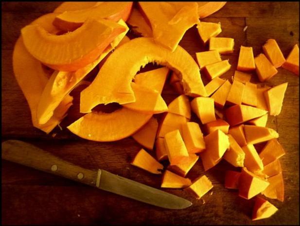 Hokkaido mit kernigem Kartoffelpüree - Rezept - Bild Nr. 4