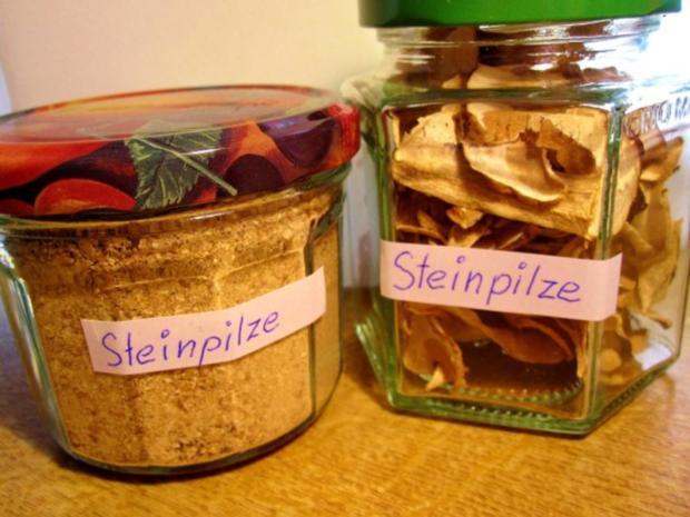 Gewürze Steinpilze zum Würzen - Rezept
