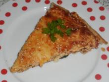 Blätterteig: Herzhafte Cabanossi-Zucchini-Tarte - Rezept