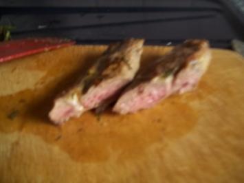 Rezept: Heidschnucken-Rücken-Filet, rosa gebraten
