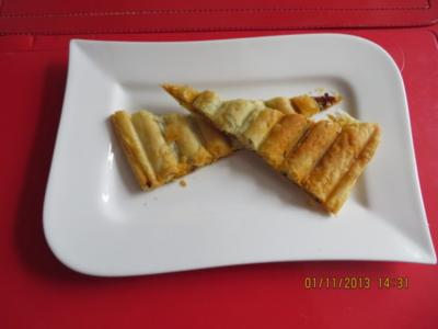 Fingerfood: Sobrassada im Blätterteig - Rezept