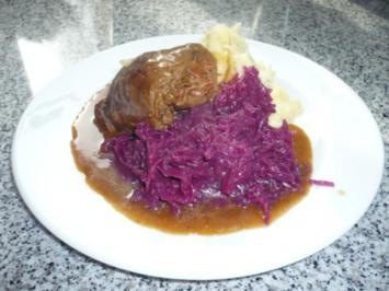 Rezept: Apfel-Quitten-Rotkohl mit Verjus