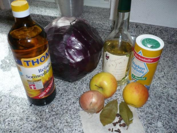 Apfel-Quitten-Rotkohl mit Verjus - Rezept - Bild Nr. 2