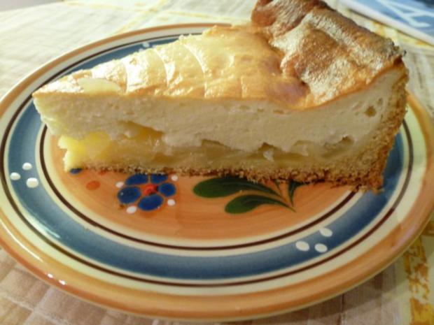 Quark-Apfel-Kuchen - Rezept
