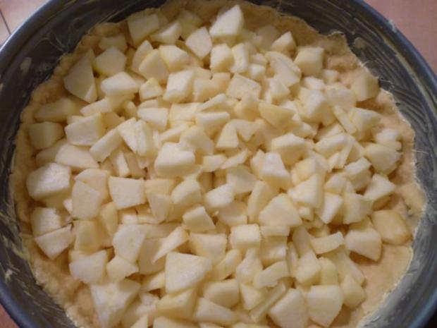 Quark-Apfel-Kuchen - Rezept - Bild Nr. 8