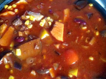 Chili con Carne Mediterran - Rezept