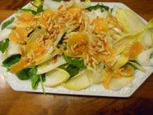 Salatplatte - Rezept