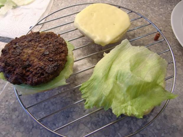 Hamburger mal selber gemacht - Rezept