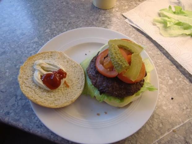 Hamburger mal selber gemacht - Rezept - Bild Nr. 2