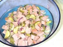Wurstsalat mit Jagtwurst - Rezept