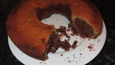 Mandel-Marmorkuchen - Rezept