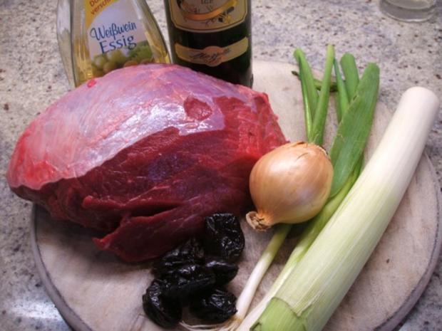 Fleisch: Sauerbraten - nicht ganz klassisch - Rezept - Bild Nr. 2