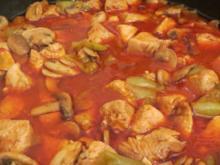 Kochen: Hähnchen-Gulasch - Rezept