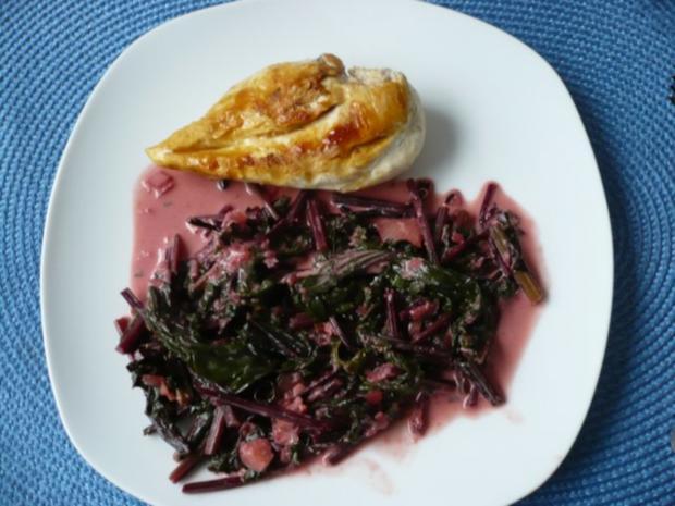 Rote - Bete - Blätter - Gemüse - Rezept