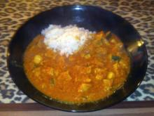 Puten-Curry Madras Art - Rezept