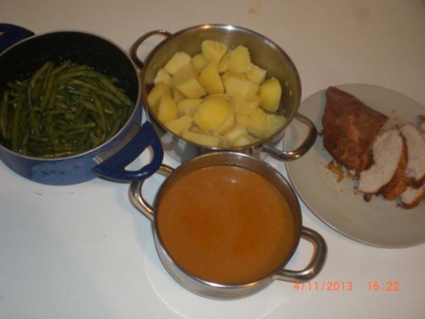 Putenbraten mit leckerer Soße - Rezept - Bild Nr. 3