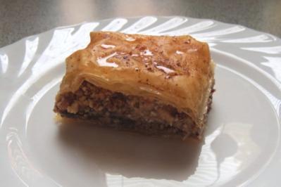 Backen: Nougat-Nuss-Pastete - Rezept