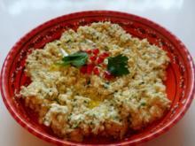 Vorspeisen/Dips: Würziger Zucchini-Schafskäse-Dip - Rezept