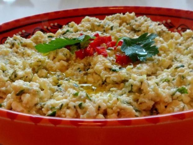Vorspeisen/Dips: Würziger Zucchini-Schafskäse-Dip - Rezept - Bild Nr. 10