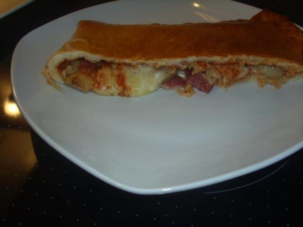 Pizza-Calzone - Rezept