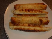 Sigaren Börek mit Schafskäse-Philadelphia creme - Rezept