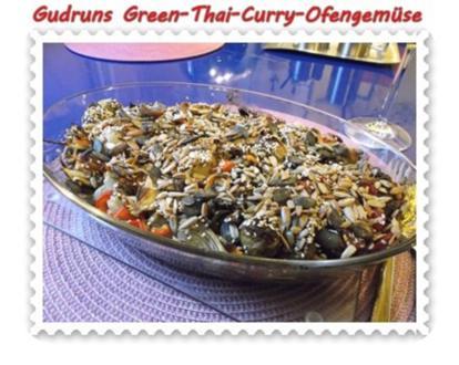 Vegetarisch: Green-Thai-Curry-Ofengemüse - Rezept