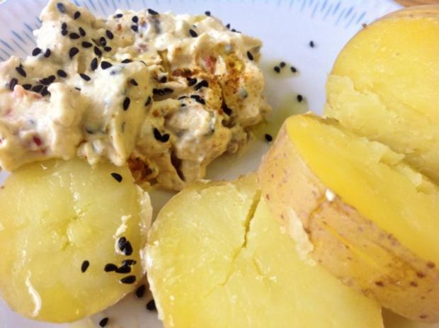 Curry Frischkäse-Dip mit Datteln - Rezept - Bild Nr. 2