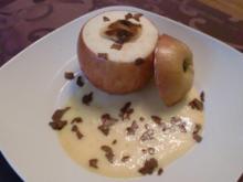 Bratapfel mit Marzipan - Rezept