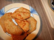 Sellerieschnitzel mit Kokoscurry - Ananassoße - Rezept