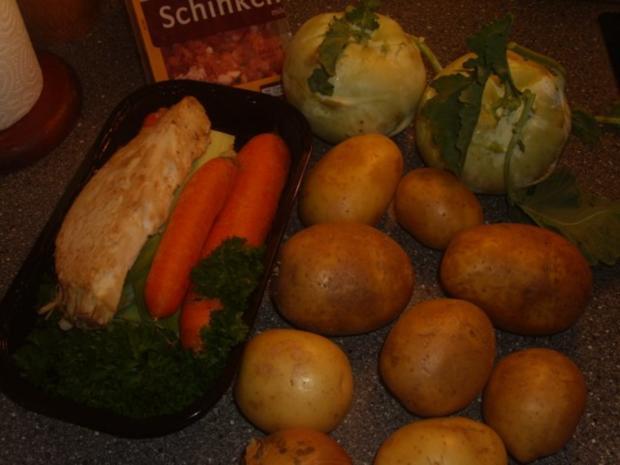 Kartoffel-Kohlrabi Suppe - Rezept - Bild Nr. 2
