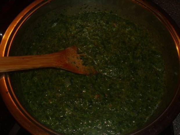 Pasta mit Spinat, Thunfisch und Krabben - Rezept - Bild Nr. 2