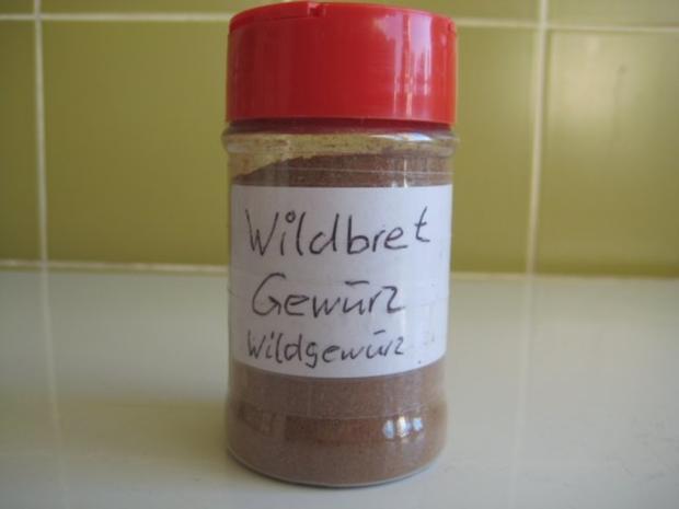 Wildbret Gewürz - Rezept