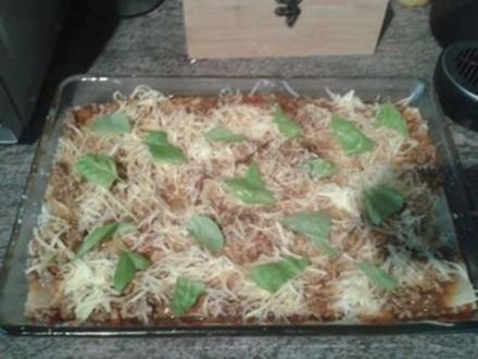 Tina's Lasagne (ohne Bechamelsoße) - Rezept