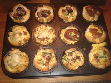 Frühstücksmuffins (Brunch) - Rezept