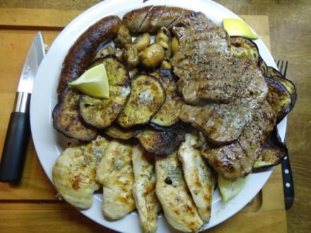 """Grillteller """"Beef meets Chicken"""" - Rezept"""
