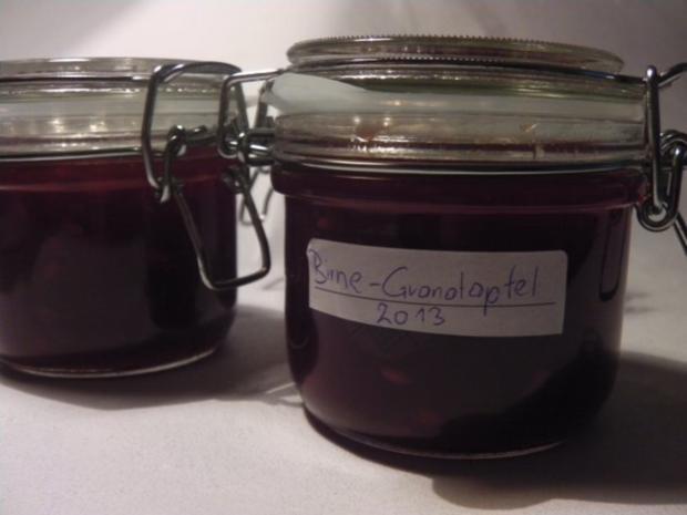 Birnen-Granatapfelmarmelade - Rezept - Bild Nr. 6