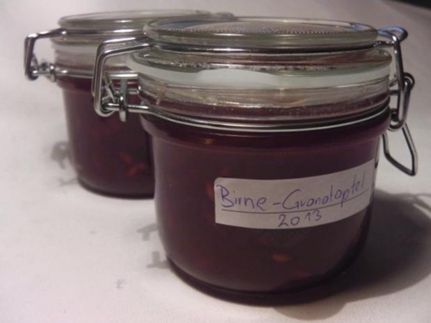Birnen-Granatapfelmarmelade - Rezept - Bild Nr. 2