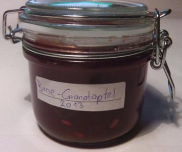 Birnen-Granatapfelmarmelade - Rezept