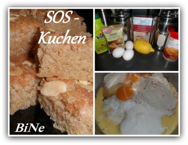 BiNe` S SOS - KUCHEN - Rezept