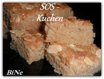 Rezept: BiNe` S SOS - KUCHEN