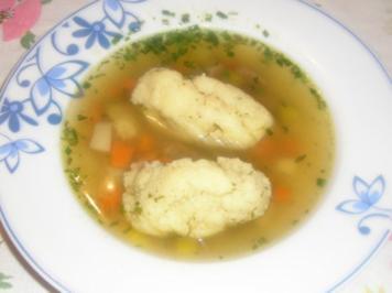 A guate Suppn braucht der Mensch - Rezept