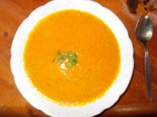 Kürbis Creme Suppe - Rezept