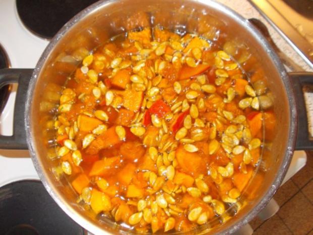 Kürbis Creme Suppe - Rezept - Bild Nr. 8