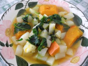 Vegan : Eine schnelle Vitamin - Suppe - Rezept