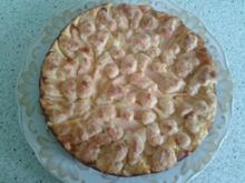 Apfel-Streusel-Kuchen mit Quarkfüllung - Rezept