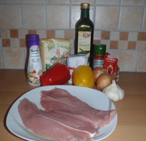 Paprikaschnitzel - Rezept