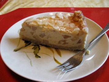 Gefüllter Pudding - Apfelkuchen - Rezept