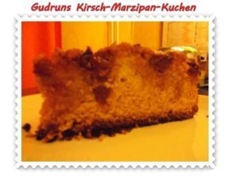 Kuchen: Kirsch-Marzipan-Kuchen - Rezept