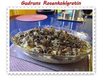 Gemüse: Rosenkohlgratin - Rezept